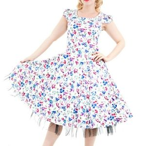 Hearts and Roses London Vintage Swing Dress